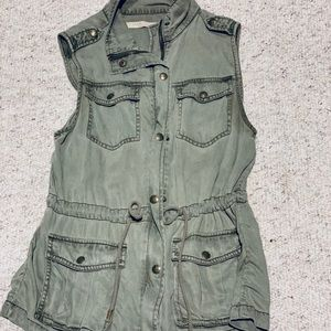 Max Jeans Military Vest